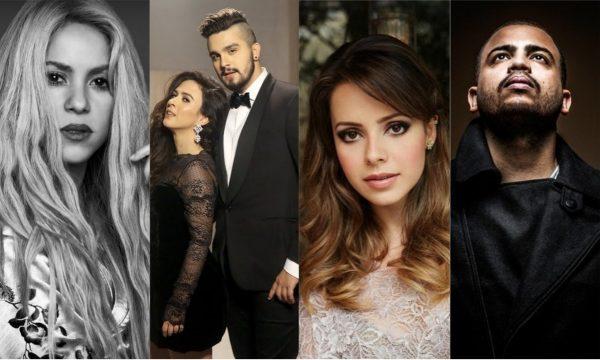 Música mara de Shakira e Maluma; inédita de Luan Santana; cover lindo da Sandy; single forte do Projota e mais se destacam nos 'Lançamentos de Sexta'