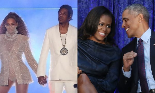 VÍDEO: Barack e Michelle Obama dançam muito e se divertem em show de Beyoncé e Jay Z