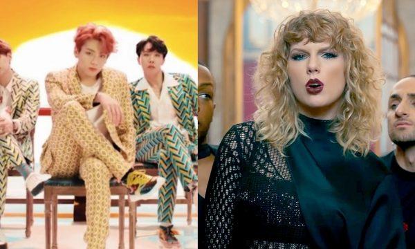 """Com clipe de """"IDOL"""", meninos do BTS batem recorde de Taylor Swift no YouTube"""
