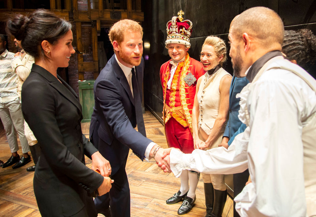 "The Duke & Duchess Of Sussex Attend A Gala Performance Of ""Hamilton"" In Support Of Sentebale"