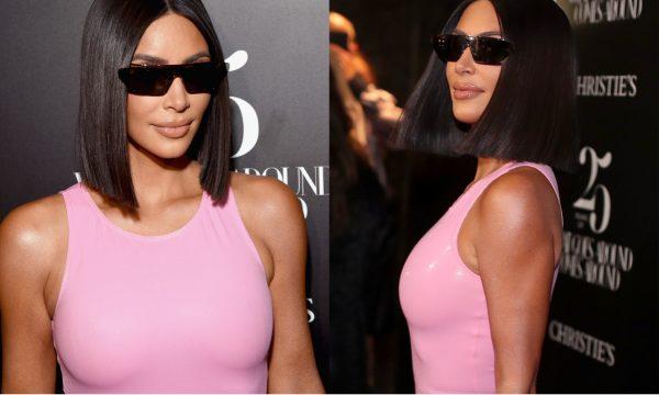 Com 'vestido embalado à vácuo', Kim Kardashian causa com bolsa inspirada em fast-food!