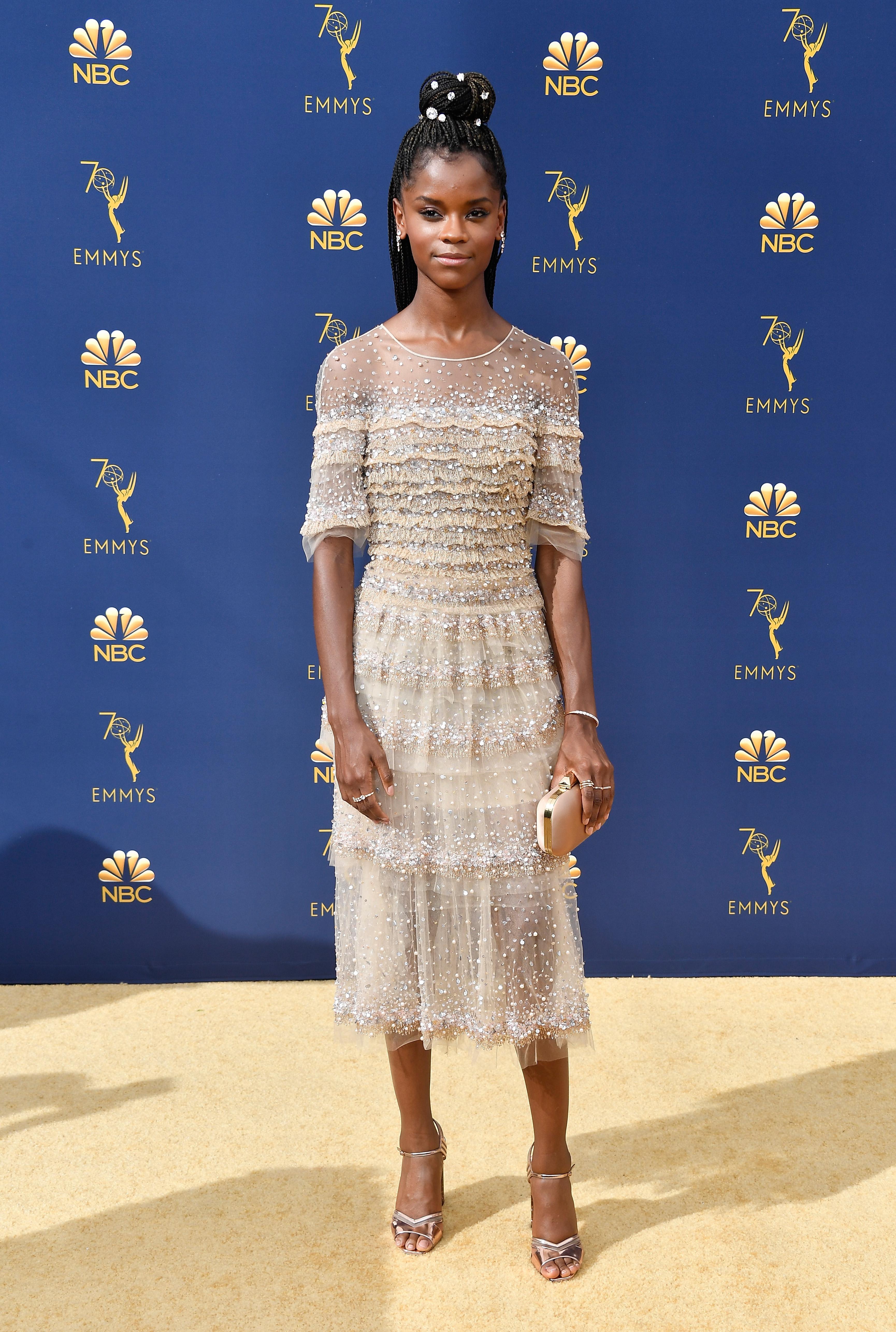 Emmys 2018: Letitia Wright
