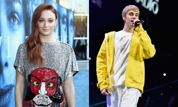 Vídeo: Sophie Turner conheceu Justin Bieber por acaso e teve a melhor reação de todas!