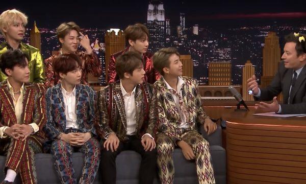 'The Tonight Show': BTS revela grande sonho do grupo, faz desafio de dança e performances de 'Idol' e 'I'm Fine' no programa; assista