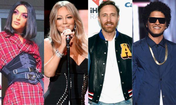 Lançamentos de Sexta: Parceria internacional de Pabllo Vittar; Clipe sensual de Mariah Carey; novo disco de David Guetta e feat inédito de Bruno Mars