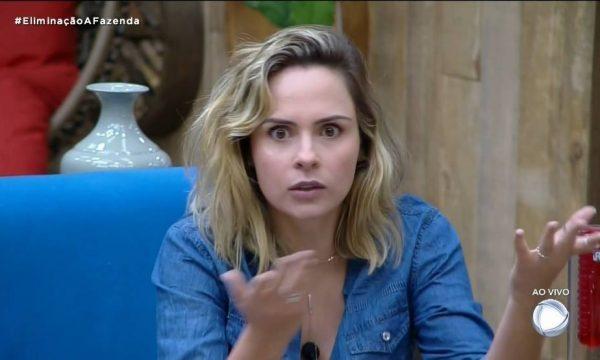 """'A Fazenda 10' – Vídeo: Ana Paula Renault se surpreende ao ser eliminada e dispara contra a Record: """"Quero que afunde a audiência"""""""