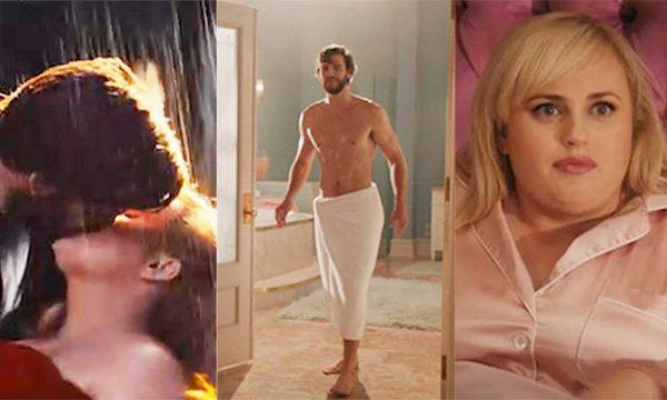 Liam Hemsworth e Rebel Wilson dão beijo molhado em trailer de comédia romântica, 'Isn't It Romantic'; assista
