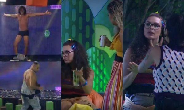 'A Fazenda 10': Festa tem strip tease quente de João Zoli e muita briga! Vem ver tudo!