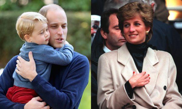Vídeo: Príncipe William revela que George e a princesa Diana têm algo em comum