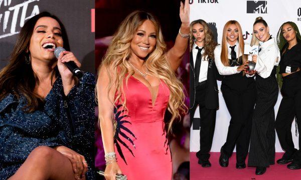 Funk com Anitta e MC G15; novo disco de Mariah Carey; clipes e álbum inéditos do Little Mix são destaques nos 'Lançamentos de Sexta'