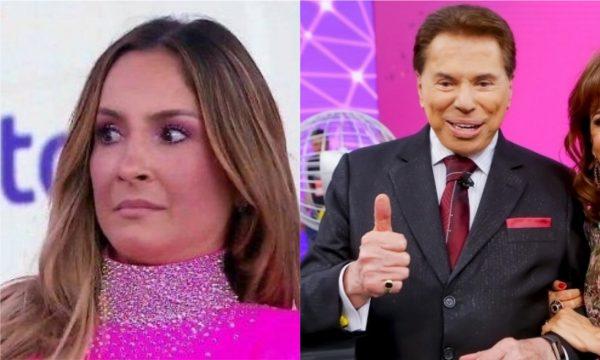 d67ca37f64bfb Claudia Leitte desabafa após episódio com Silvio Santos no Teleton    Senti-me constrangida