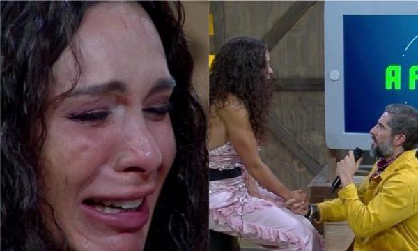 A Fazenda 10 – Vídeo: Após rejeição recorde da edição, Fernanda Lacerda chora e se desespera: 'Quero fugir desse país!'
