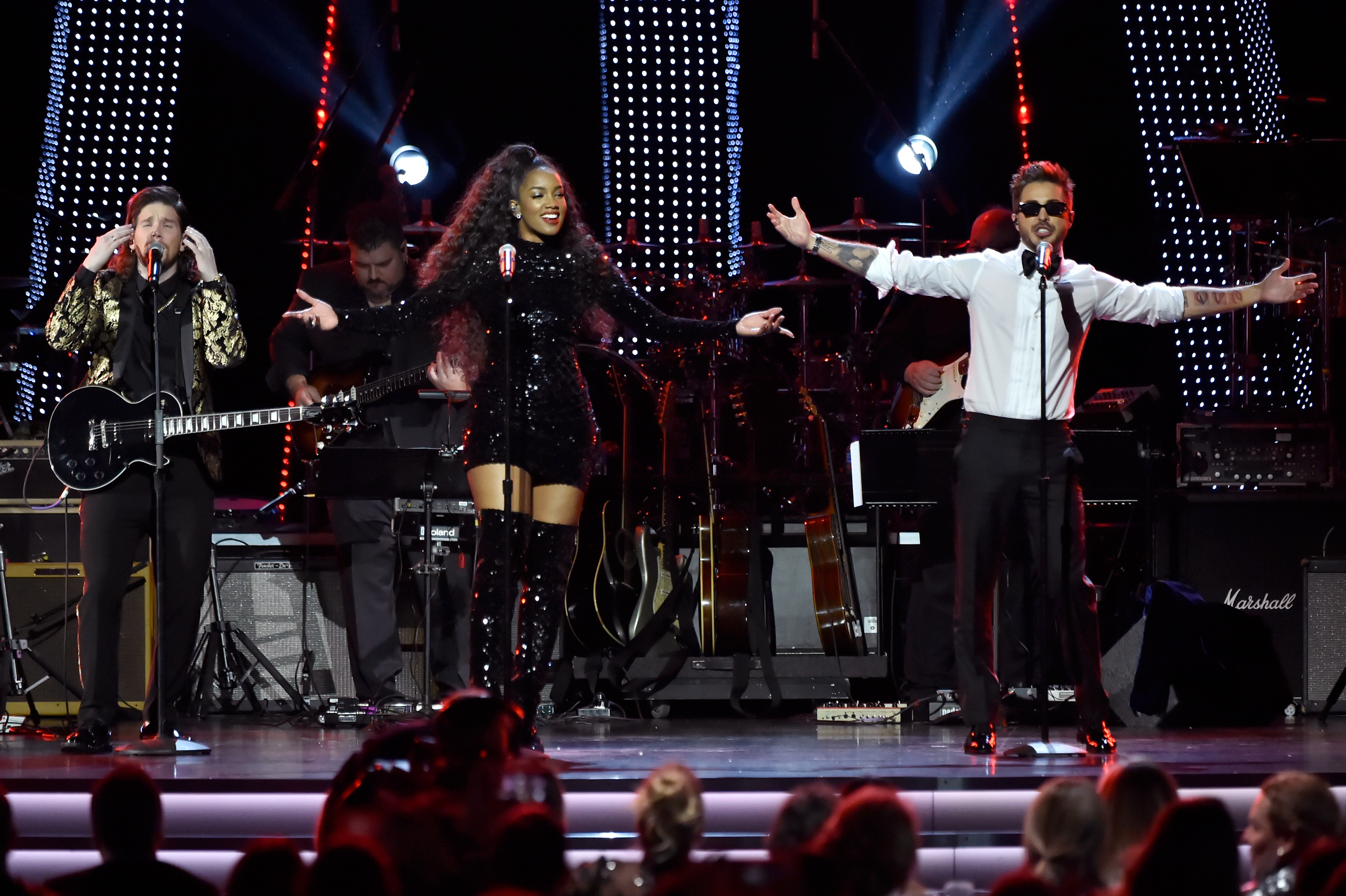 The 19th Annual Latin GRAMMY Awards – Person Of The Year Gala Honoring Mana – Show