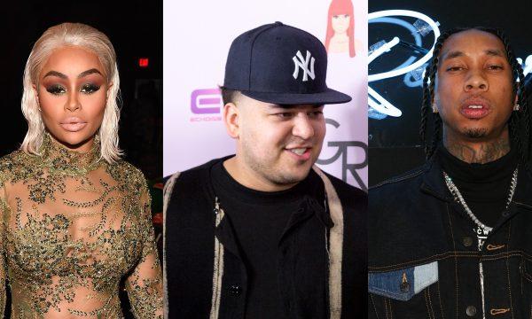 Blac Chyna provoca Rob Kardashian e Tyga: 'Meus filhos não merecem o mesmo estilo de vida que os pais?'