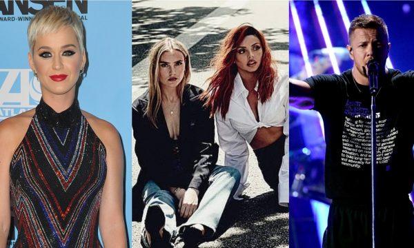 """Regravação LINDA de Katy Perry; single dançante de Little Mix e música poderosa de Imagine Dragons são destaques nos """"Lançamentos de Sexta"""""""