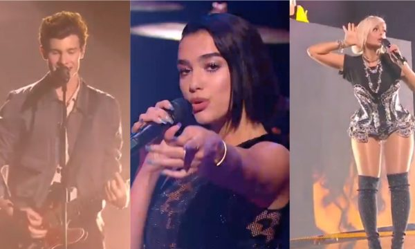 Dua Lipa, Shawn Mendes e Bebe Rexha arrasam em performances de premiação francesa; vem assistir