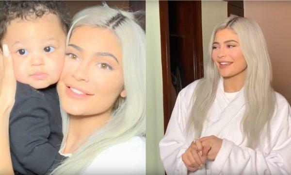 Vídeo: Fofura! Kylie Jenner faz tutorial de make com participação da filhinha Stormi pra arrasar em show; vem ver e se apaixonar!