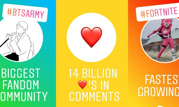 De GIF de coração a BTS: Instagram revela os emojis, hashtags e tendências que mais bombaram em 2018