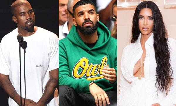 Drake liga pra Kanye West e ele dispara sérias acusações contra o canadense; Kim Kardashian manda recado afrontoso para rapper; veja tudo!