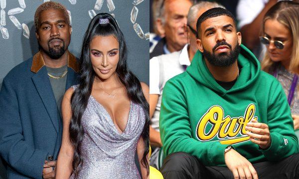 Eita! Kanye West descobre que Drake seguiu Kim Kardashian no Instagram, fica pistola no Twitter e manda recado pra rapper