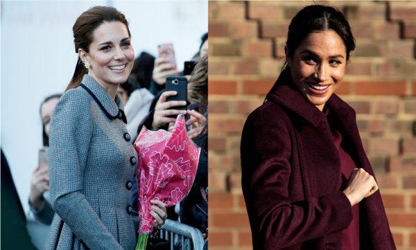 OMG! Palácio quebra silêncio sobre suposta crise entre Kate Middleton e Meghan Markle!