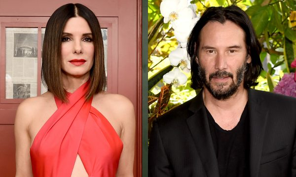 Sandra Bullock revela crush em Keanu Reeves em época de filme e palpita sobre por que não rolou!