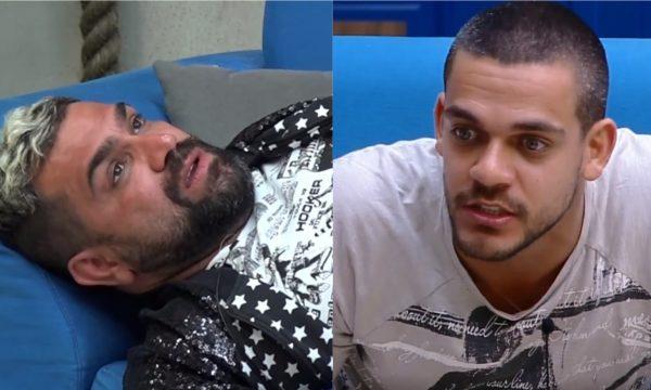 """A Fazenda 10: Caique acusa Evandro de ter causado expulsão de Catia e compara: """"Com a Nadja, eu não causei"""""""