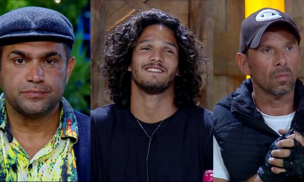 A Fazenda 10: Evandro Santo é eliminado e João Zoli e Rafael Ilha disputam final com Caique Aguiar
