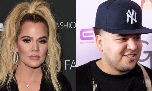 """Após homenagem nas redes, Khloé Kardashian é acusada de ignorar a existência do irmão, Rob e se explica: """"Respeito"""""""