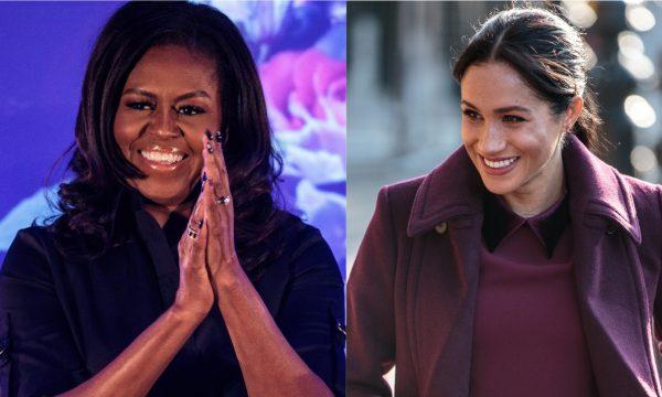 Michelle Obama revela quais conselhos daria a Meghan Markle; jornal dá detalhes de como foi primeiro encontro delas!