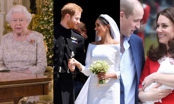 Em discurso de Natal, Rainha Elizabeth II faz fofa menção aos casamentos e bebês da família real em 2018; assista