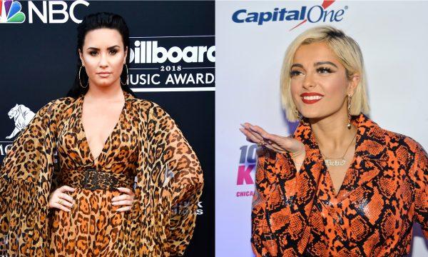 """Demi Lovato apoia Bebe Rexha após desabafo sobre estilistas que não queriam vesti-la por ser 'muito grande': """"Sermão f*da!"""""""