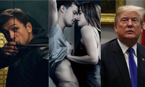 """Framboesa de Ouro 2019: """"50 Tons de Liberdade"""", """"Robin Hood"""" e Donald Trump estão entre os indicados; confira lista completa"""