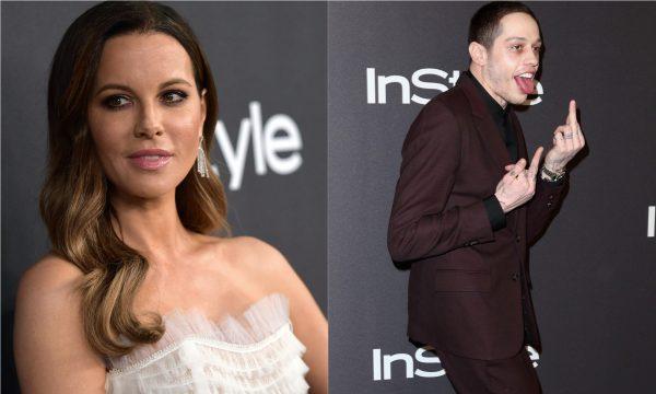 Em meio a rumores, Kate Beckinsale brinca com conselho de fã sobre não namorar com ex de Ariana Grande, Pete Davidson