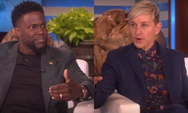 Após polêmica, Kevin Hart se abre sobre a recusa da apresentação do Oscar e é surpreendido por Ellen DeGeneres, assista!