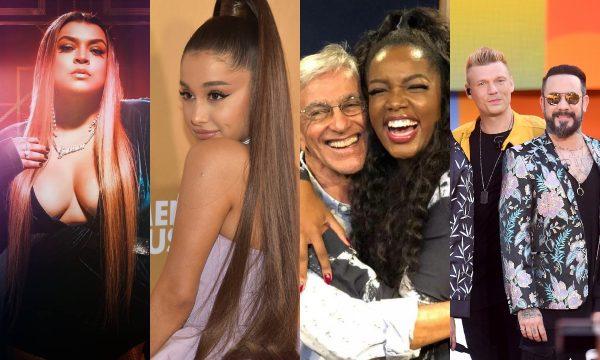 Single de Ariana Grande, parceria entre Iza e Caetano Veloso, música nova Preta Gil, dos Backstreet Boys são destaques nos 'Lançamentos de Sexta'