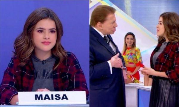 Vídeo: Silvio Santos pergunta pra Maisa o que é 'bicha' e resposta bomba nas redes sociais: 'Rainha'