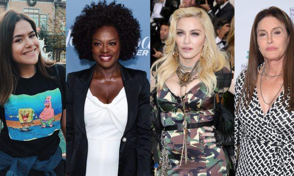 'Desafio dos 10 Anos': Maisa, Viola Davis, Madonna, Caitlyn Jenner e mais famosos entram na brincadeira; vem conferir!