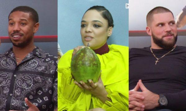 """Entrevista – Michael B. Jordan, Tessa Thompson e Florian Munteanu falam sobre """"Creed 2"""" e fãs brasileiros: """"Muito família""""; assista!"""
