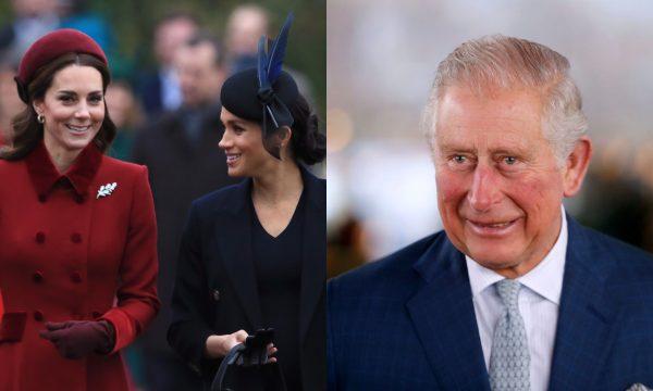 Príncipe Charles foi responsável pela paz entre Kate Middleton e Meghan Markle, diz jornal