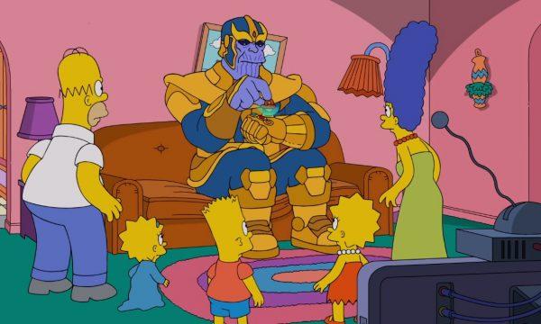 Genial! Thanos faz visitinha aos Simpsons e aniquila a família com ajuda inesperada em abertura; assista