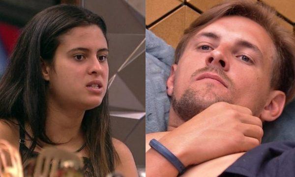 """BBB 19: Após chamar Diego de """"Diega"""", Hana tenta conversar com o brother e ele se afasta"""