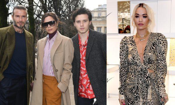 """Victoria e David Beckham ficaram """"furiosos"""" e fizeram o filho Brooklyn terminar romance com Rita Ora, diz jornal"""