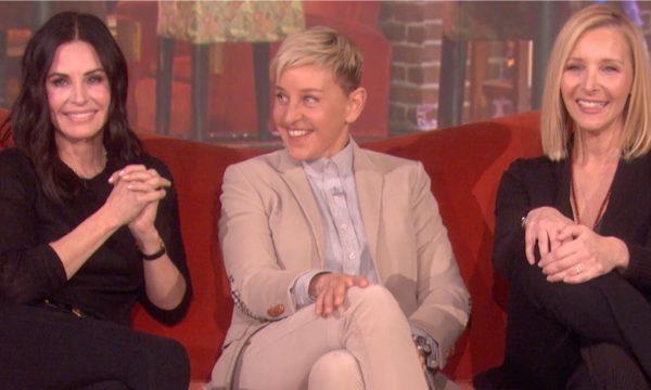 Friends! Ellen DeGeneres arma encontro surpresa de Courteney Cox e Lisa Kudrow por um motivo inusitado; vem ver!