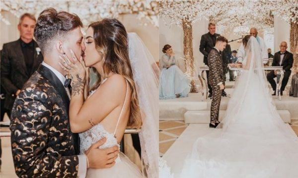 Gabi Brandt e Saulo Pôncio se casam em cerimônia LINDA no Copacabana Palace; confira!