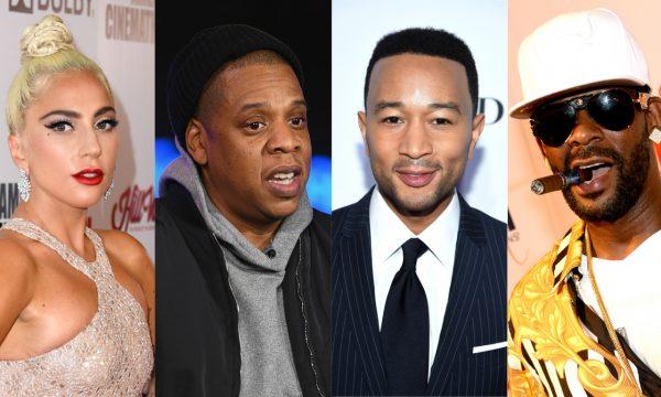 """Lady Gaga e Jay-Z se recusam a aparecer em documentário bombástico de R. Kelly e John Legend se pronuncia: """"Não vou proteger um estuprador de crianças"""""""