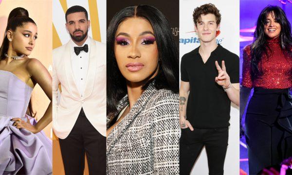 Divulgados os indicados ao 'iHeart Radio Music Awards 2019'; Cardi B lidera, seguida por Drake e Ariana Grande! Vem ver