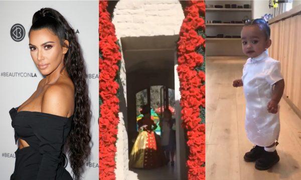 Kim Kardashian dá festão temático para comemorar primeiro aniversário de Chicago West! Vem ver