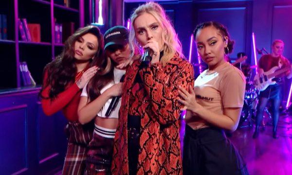 Meninas do Little Mix comemoram indicações ao 'BRIT Awards' com performance maravilhosa de 'Think About Us'; vem ver!