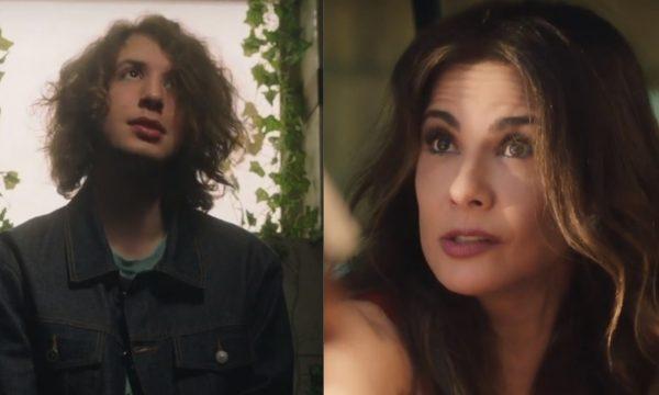 """Lucas Jagger tira sarro da mãe Luciana Gimenez em vídeo promocional hilário de """"Sex Education"""", da Netflix"""